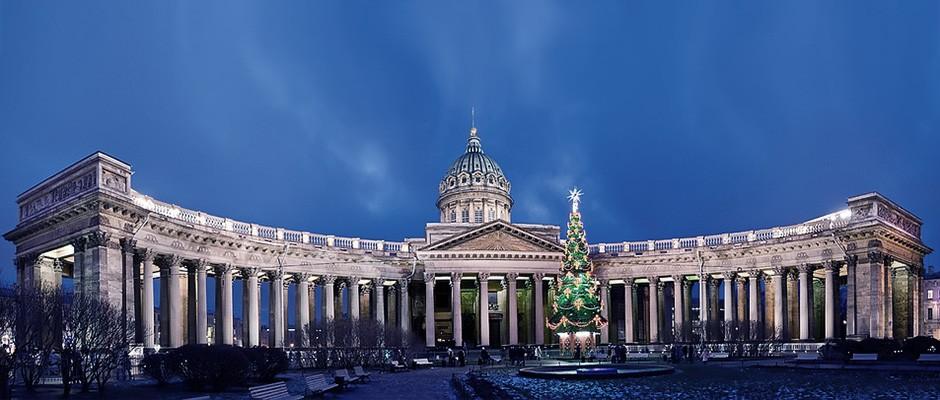 Казанский_собор,_новогодняя_панорама,_Санкт-Петербург
